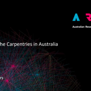 Webinar - ARDC and the Carpentries in Australia