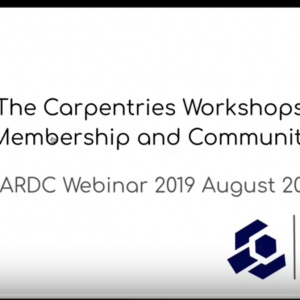 tracey teal slides - The Carpentries workshops, membership and community