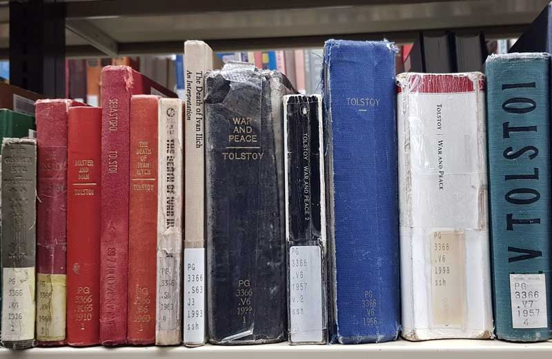 Versions of Tolstoy's War and Peace